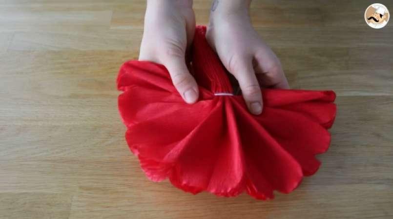 Fleur En Papier Cr Pon Pour Votre Table De F Tes
