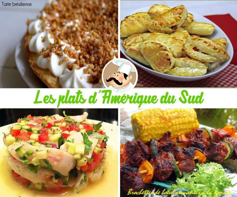 Les plats du monde direction l 39 am rique du sud for Cuisine nord sud