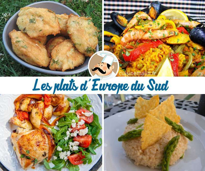 Les plats du monde: Direction l'Europe du Sud!