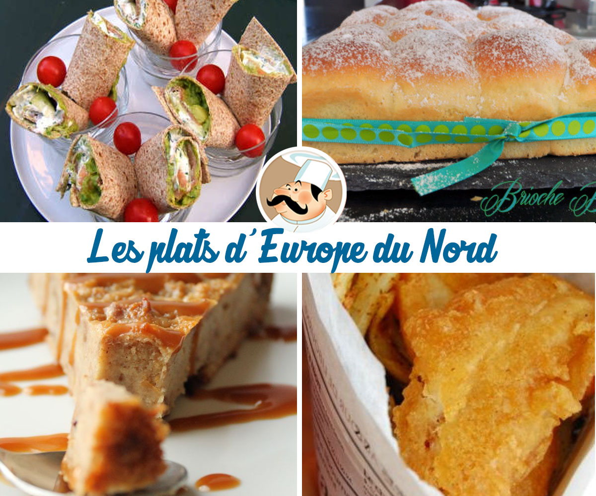 Les plats du monde : direction l'Europe du Nord