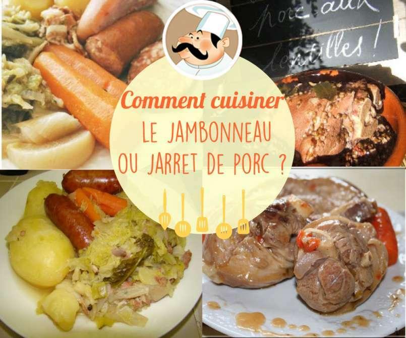 Le jarret ou jambonneau de porc - Comment cuisiner des cuisses de grenouilles surgelees ...