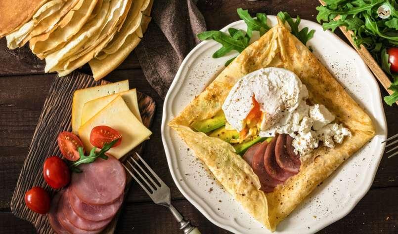 10 recettes de crêpes salées bien garnies