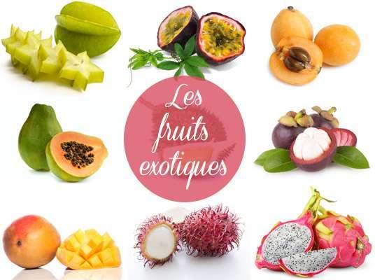14 fruits exotiques qui n 39 auront plus de secrets pour vous - Liste fruits exotiques avec photos ...
