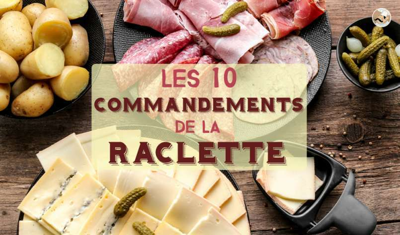 les 10 commandements pour une raclette r ussie. Black Bedroom Furniture Sets. Home Design Ideas