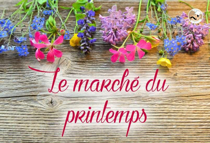 Le marché du printemps
