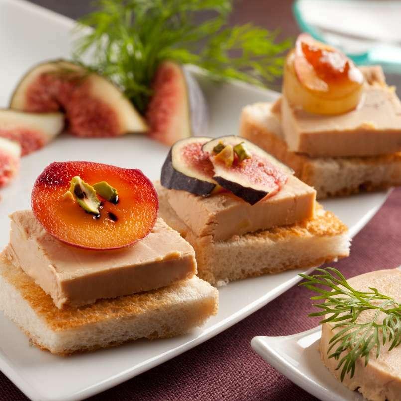 le foie gras s 39 invite sur les tables pour les f tes. Black Bedroom Furniture Sets. Home Design Ideas
