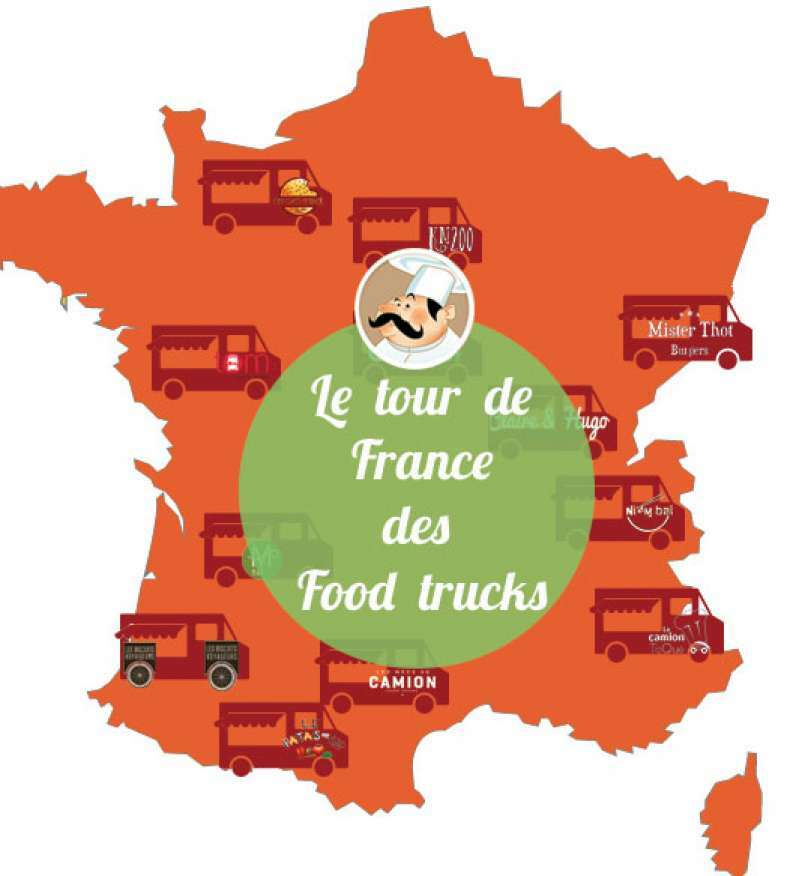 Le tour de France des Food trucks