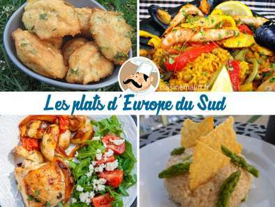 Les plats du monde : Direction l'Europe du Sud  !