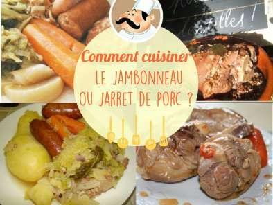 Jarret de porc en cocotte minute recette ptitchef - Comment cuisiner le porc ...