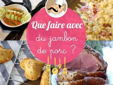 Gratin de coquillettes jambon recette ptitchef - Cuisiner du jambon blanc ...