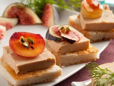 Mini tatins de foie gras recette ptitchef - Petites cuilleres aperitives pour apero sympa ...