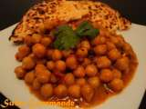 Recette Chana masala ou curry de pois chiches