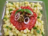 Recette Salade haricots beurre / tomates design look