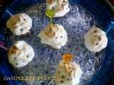 Recette Cupcakes meringues a la mousse d'orange