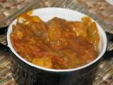 Recette Curry de poulet banane/mangue