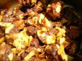 Recette Curry de mouton aux copeaux de coco - mutton curry - k m mathew
