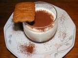 Recette Verrines mousseuses nutella-speculoos