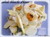 Recette Salade blanche aux topinambours
