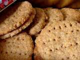 Recette Digestives biscuits et graham crakers pour cheesecakes