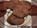 Recette Cookies traditionnels au chocolat...