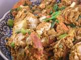 Recette Crabe au curry (poo phad pong curry)