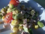 Recette Salade aux feves