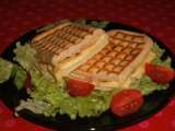 Recette Panini gouda, omelette & bacon