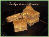 Recette Brownies aux snickers...