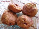 Recette Muffins fraise - rhubarbe