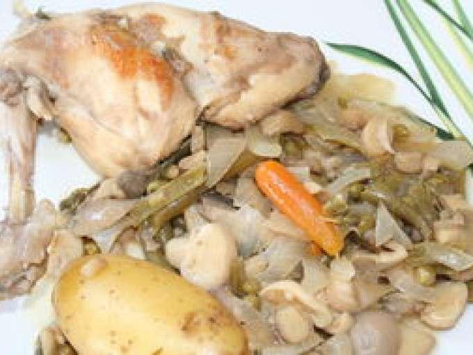 Lapin au vin blanc 139 recettes sur ptitchef - Cuisine lapin au vin blanc ...