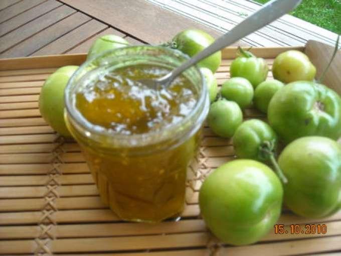 Confiture de tomates vertes recette ptitchef - Cuisiner des tomates vertes ...