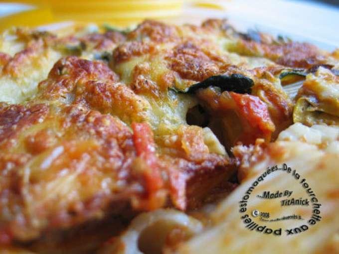 gratin de p 226 tes aux tomates et aux courgettes 224 l estragon recette ptitchef