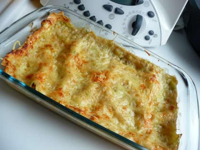 Lasagnes thon courgettes au thermomix recette ptitchef - Recette crepe au thermomix ...