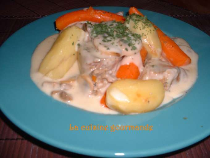 Blanquette de veau l 39 ancienne 3 recettes sur ptitchef - Cuisine blanquette de veau a l ancienne ...