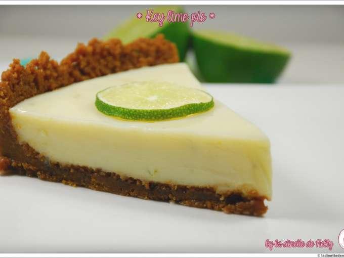 Key lime pie tarte au citron vert et speculoos recette ptitchef - Recette tarte au citron simple ...