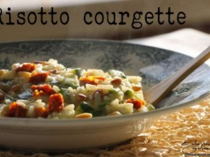 Risotto à la courgette