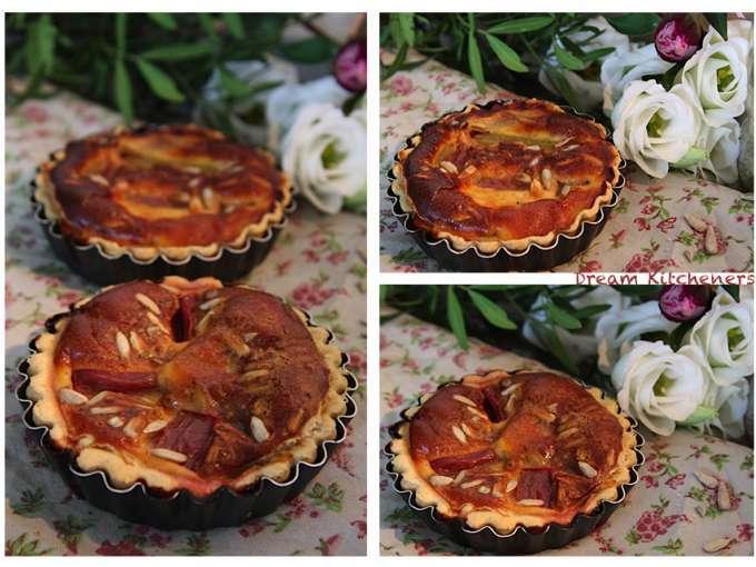 Tarte avec rhubarbe miel 9 recettes sur ptitchef - Graine de rhubarbe ...