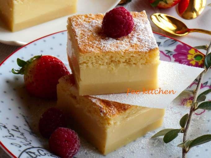 g 226 teau magique 224 la vanille facile et rapide recette ptitchef