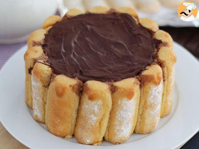 Charlotte au chocolat 80 recettes sur ptitchef - Recette charlotte au chocolat ...
