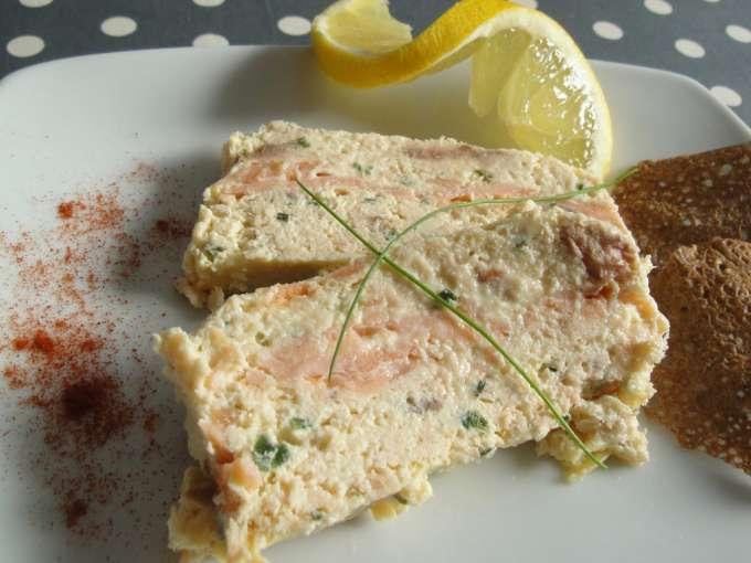 Terrine aux deux saumons facile recette ptitchef for Entree sans poisson
