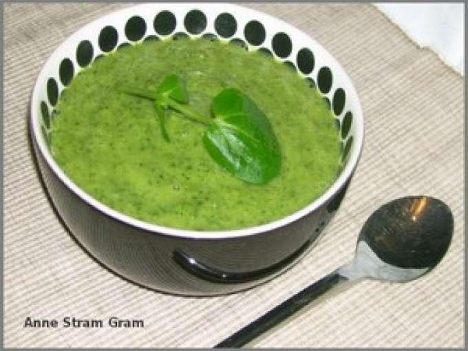 Velout de cresson et de brocoli recette ptitchef - Veloute brocolis thermomix ...