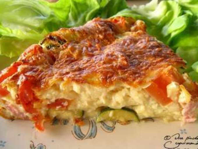 clafoutis avec courgette tomate 5 recettes sur ptitchef. Black Bedroom Furniture Sets. Home Design Ideas