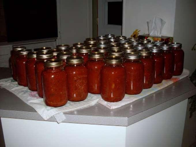 La sauce spaghetti de christine recette ptitchef for Aubergines en conserve maison