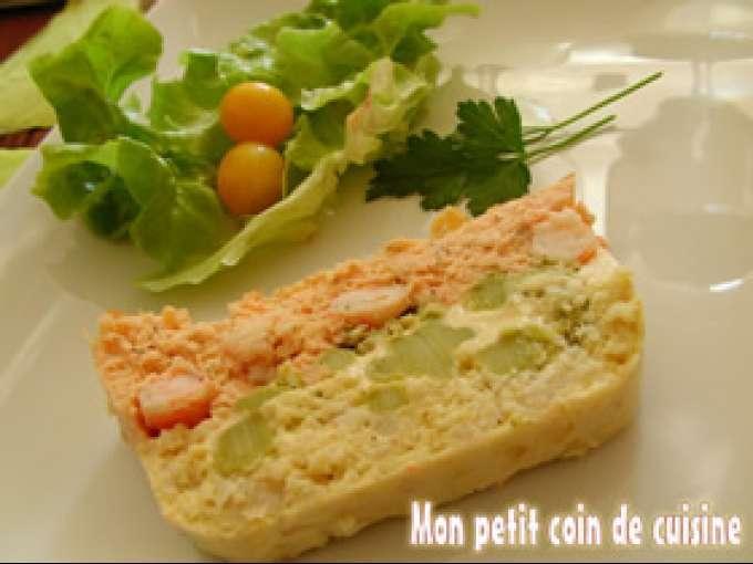 Terrine de poissons au saumon et de lingue sans gluten for Entree sans poisson