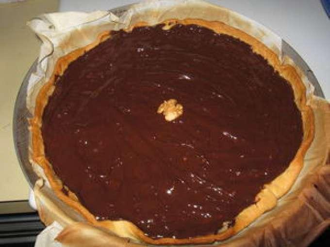 tarte au chocolat avec des noix 7 recettes sur ptitchef. Black Bedroom Furniture Sets. Home Design Ideas