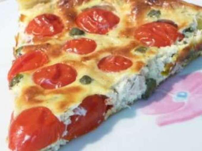 tarte aux tomates cerises thon et boursin recette ptitchef. Black Bedroom Furniture Sets. Home Design Ideas