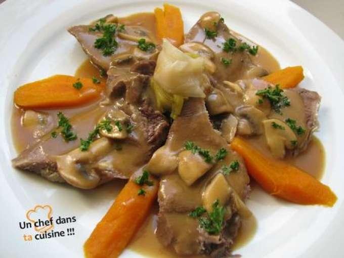 Langue de boeuf sauce mad re recette ptitchef - Cuisiner langue de boeuf ...