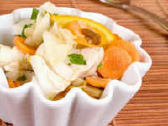 Dos de cabillaud au fenouil et aux agrumes recette ptitchef for Cabillaud fenouil