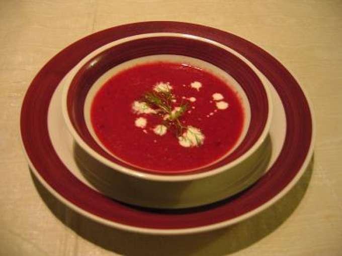 Soupe la betterave et au fenouil recette ptitchef - Soupe betterave thermomix ...