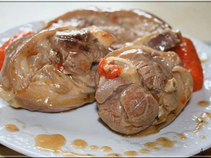 Comment cuire jambonneau de porc - Cuisiner une rouelle de porc en cocotte minute ...